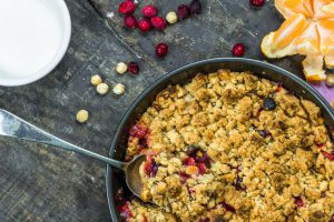 Cranberry Crumble Coffee Cake This Takes the Cake as a Perfect Start or Finish to a Holiday Celebration!