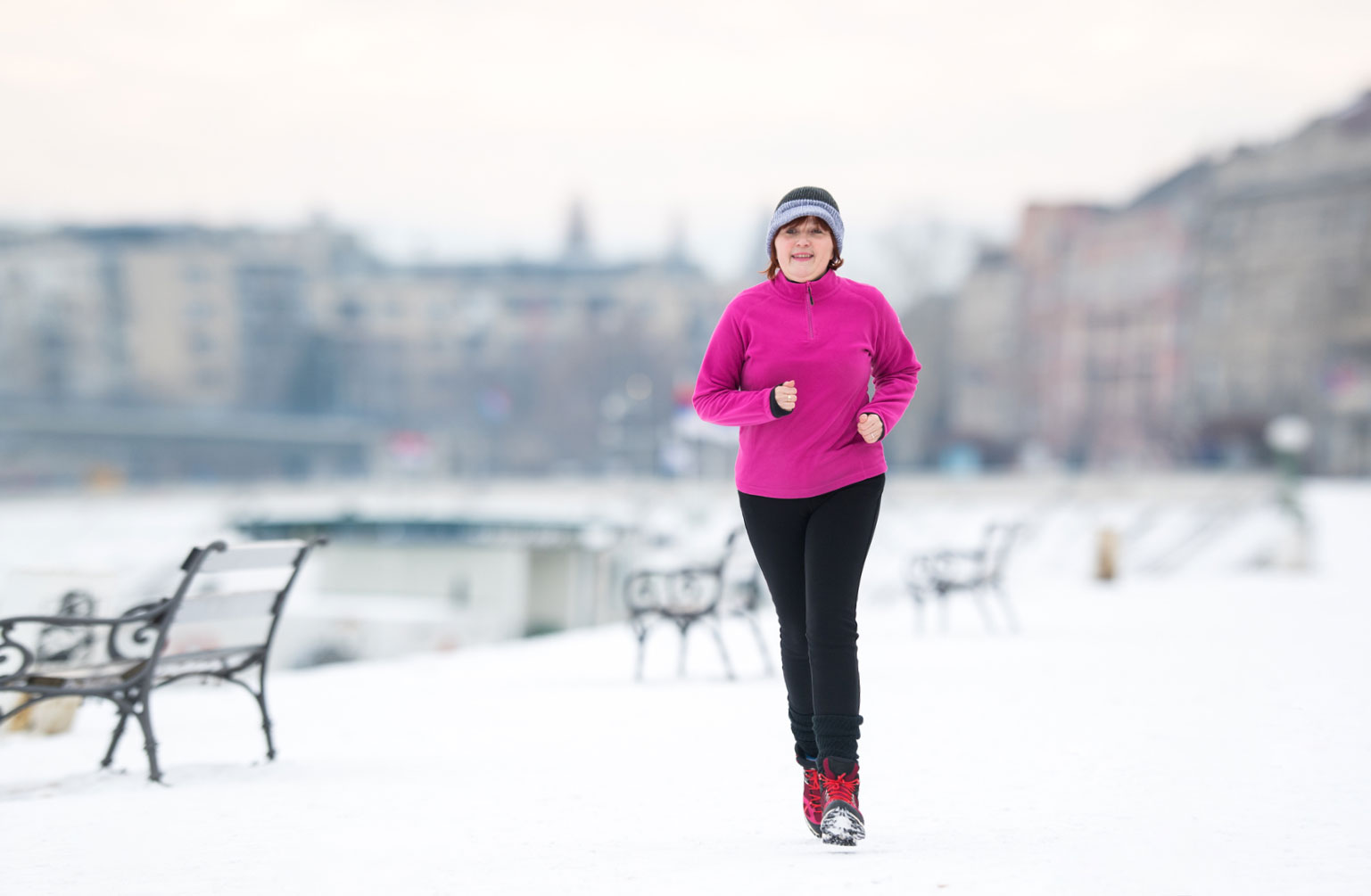 Staying Active This Winter* - Winter Means Colder Temperatures and Less Daylight, but it Shouldn't Mean an End to Exercise. Try These Outdoor and Indoor Activities to Keep You Fit this Winter.