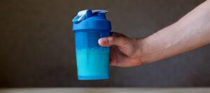 Blue Blender Cup
