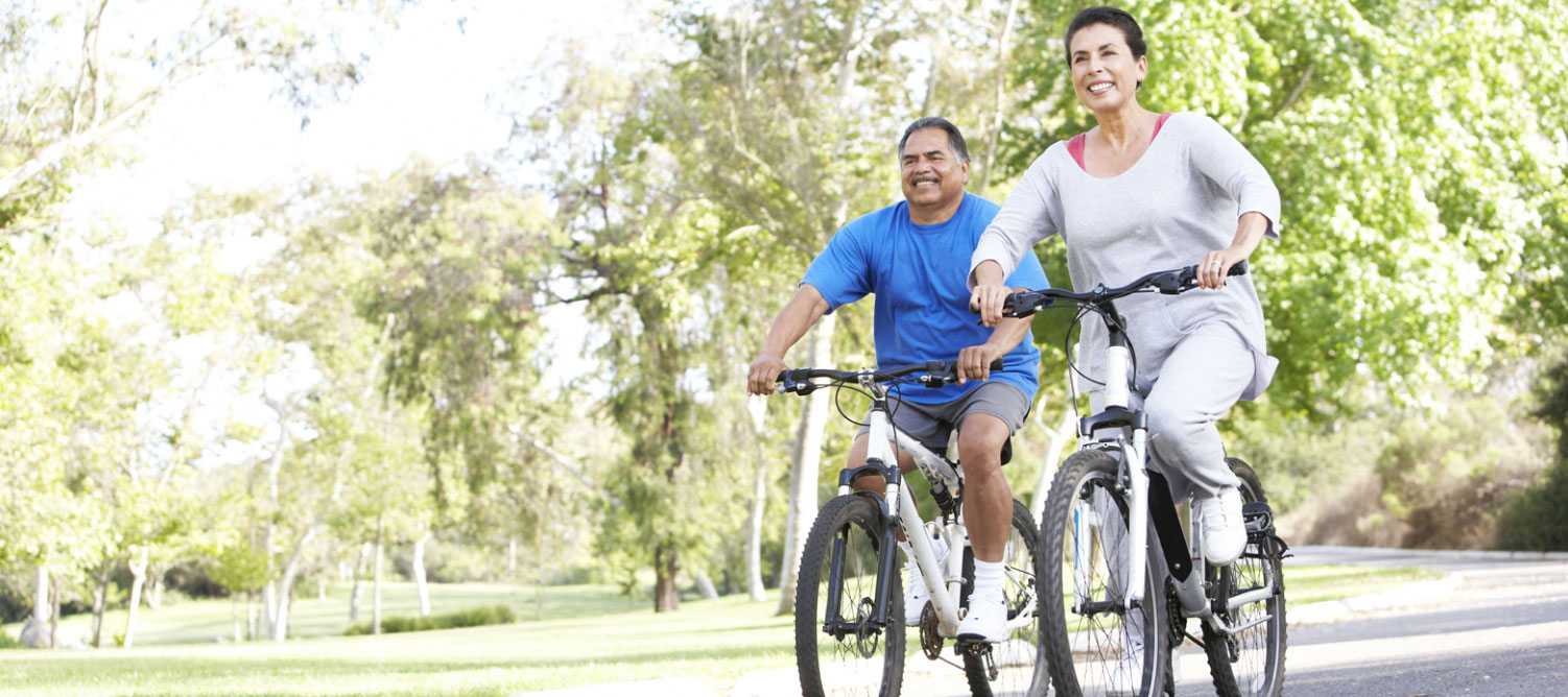 Get outside with a friend for a walk, bike, or picnic