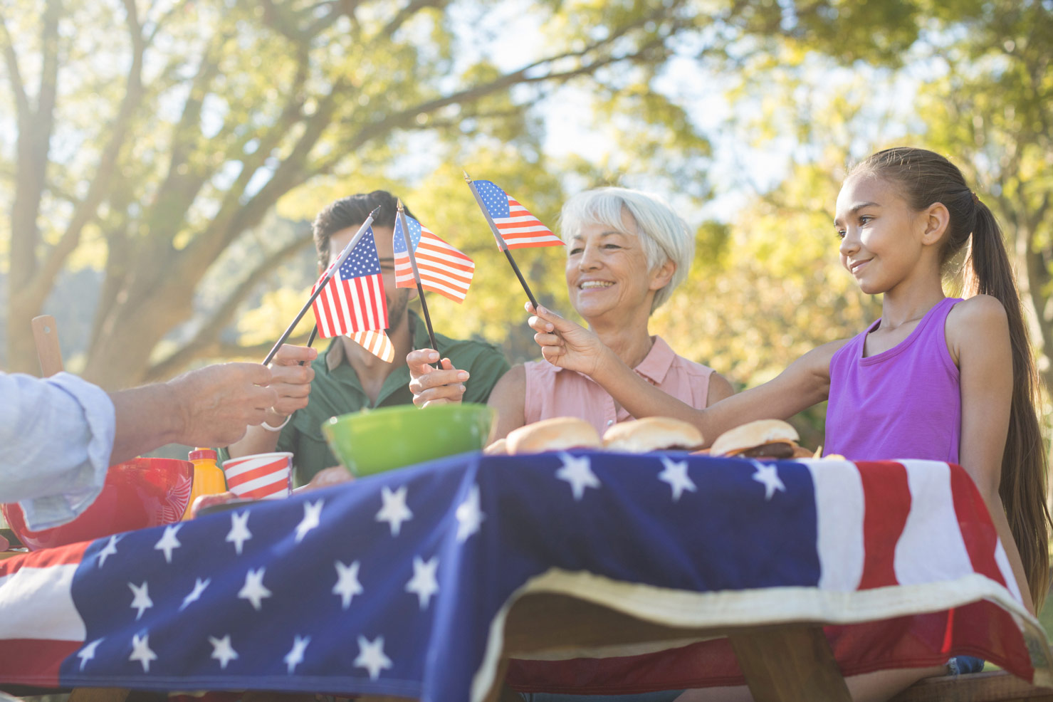 Festive Memorial Day Decorations and Nibbles - Kick Off the Unofficial Start of Summer with Friends and Family