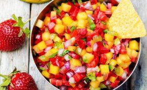 Summer Fruit Salsa With Cinnamon