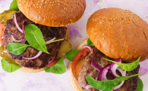 Ginger Pork Burgers