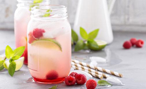 Raspberry Lemon Limeade