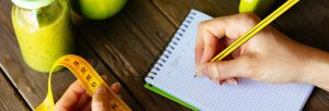 Writing health diary