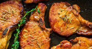 Harissa Pork Chop