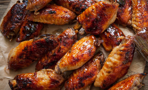 Dry-Rubbed Barbecue Turkey Wings