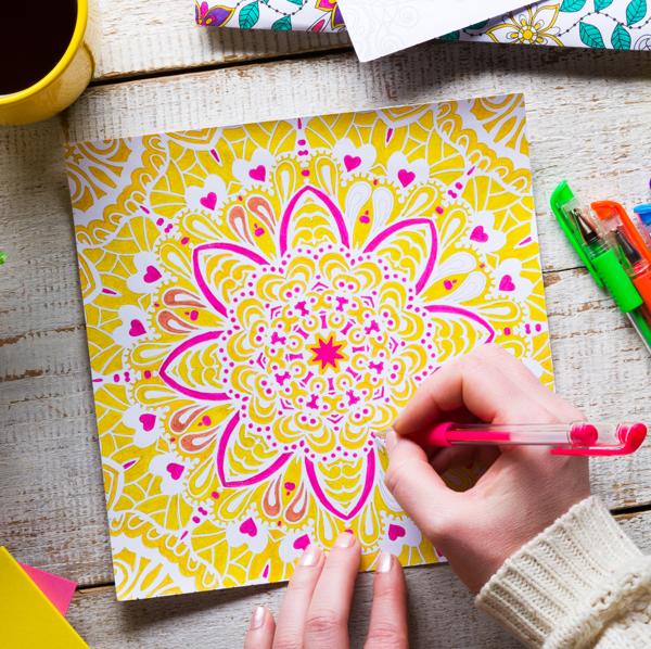 Make it up: Crafting, Coloring, Hobbying