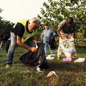 volunteering, clean up, charity