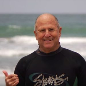 man in surfing gear