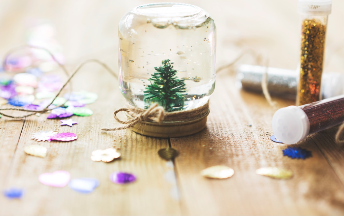 Blizzard in a jar
