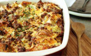 Holiday Plans - Baked Breakfast Casserole