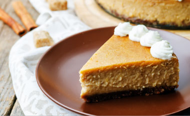 Holiday Plans - Seasonal Cheesecake