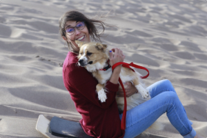 Ana's Mom Gave Her a Kidney and a Life She Hasn't Known for 15 Years - Anna with Dog